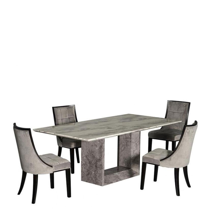 Стол PRESTOL Exclusive Монблан с корпусом из мрамора