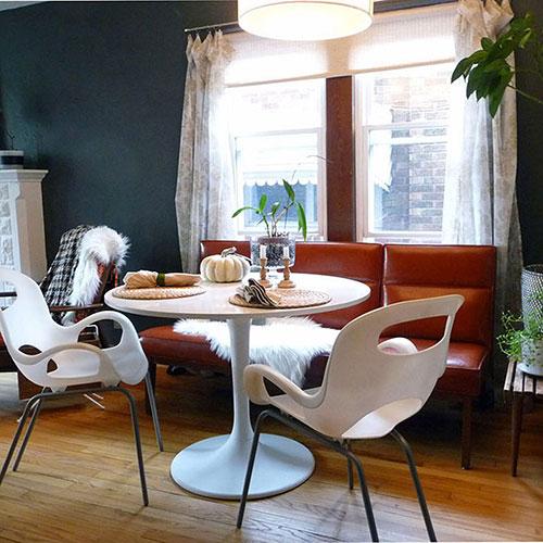 Белый стул Umbra Oh Chair с матовой отделкой, фото