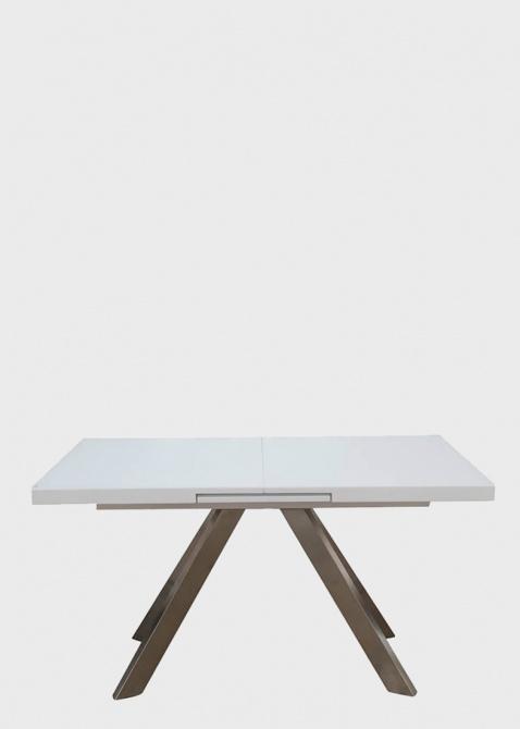 Обеденный стол PRESTOL Кемел белого цвета, фото