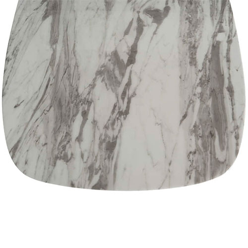 Обеденный стол PRESTOL Exclusive Эван белого цвета, фото