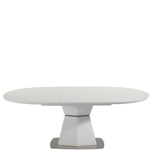 Раскладной стол PRESTOL Trend Даймонд белого цвета, фото