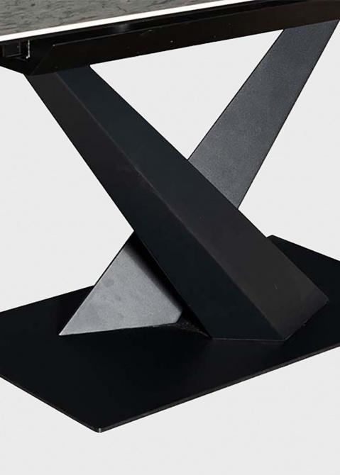 Обеденный стол PRESTOL Флейм с керамической столешницей, фото
