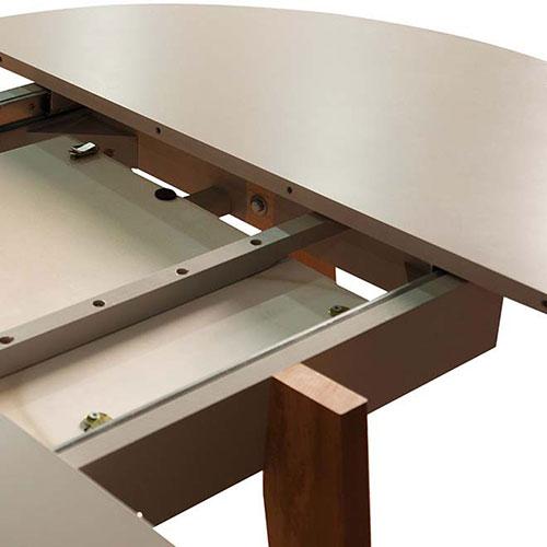 Раскладной стол PRESTOL Smart Марс из массива дерева, фото