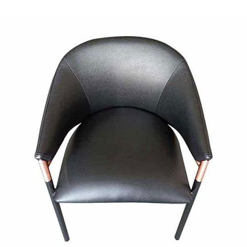 Стул PRESTOL Exclusive Филип с сиденьем из кожи, фото