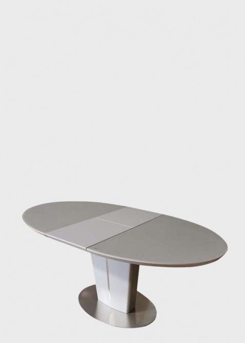 Стол обеденный PRESTOL Ева из матового стекла, фото