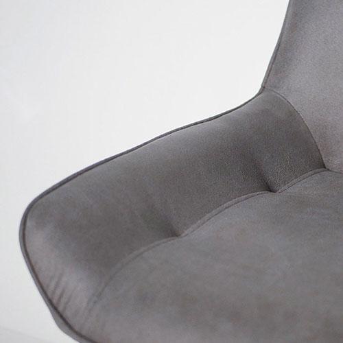 Стул PRESTOL Loft Клайд темно-серого цвета, фото