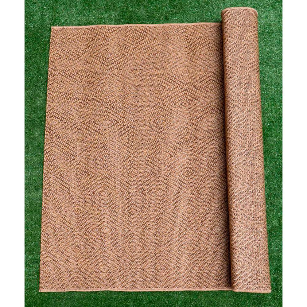 Ковер SL Carpet Cord с узором из ромбов 133x190см