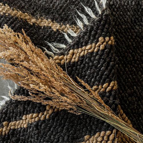 Ковер из шерсти Ґушка ручной работы 110х166см, фото