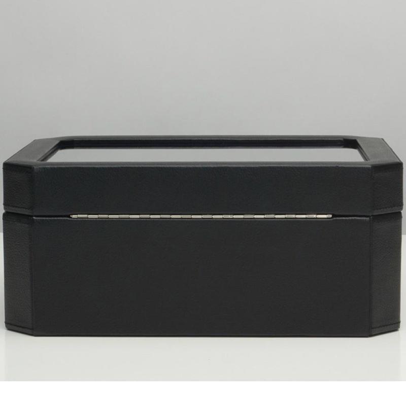 Черная шкатулка Wolf 1834 Windsor для хранения часов и украшений