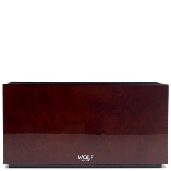 Деревянная шкатулка Wolf 1834 для часов и украшений коричневого цвета