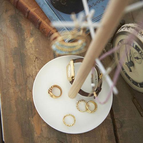 Органайзер для украшений Yamazaki Tosca белого цвета, фото