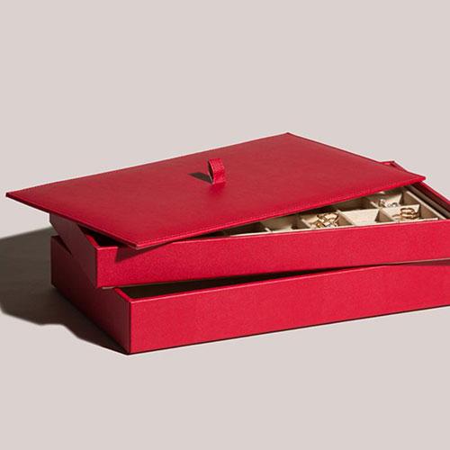 Красный планшет Wolf 1834 для украшений, фото