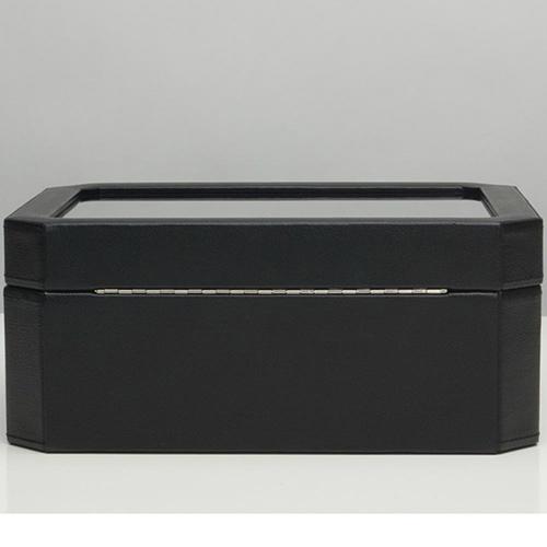 Черная шкатулка Wolf 1834 Windsor для хранения часов и украшений, фото