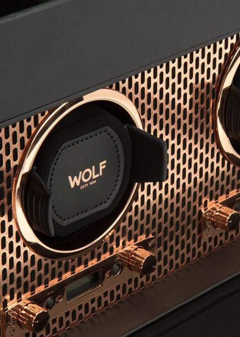 Шкатулка Wolf 1834 Axis для подзавода, фото