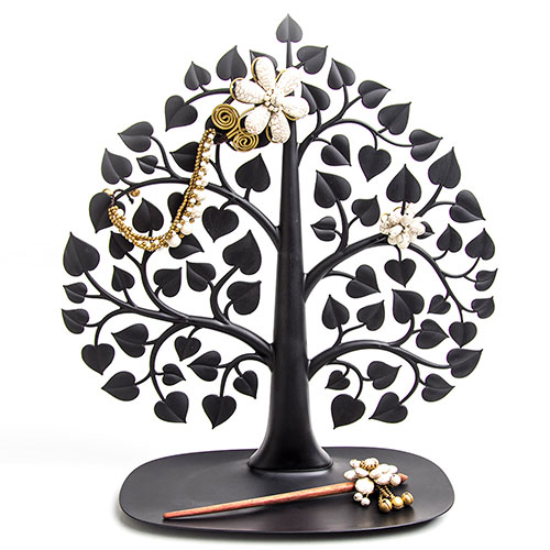 Подставка для украшений и аксессуаров Qualy Дерево бодхи черного цвета, фото