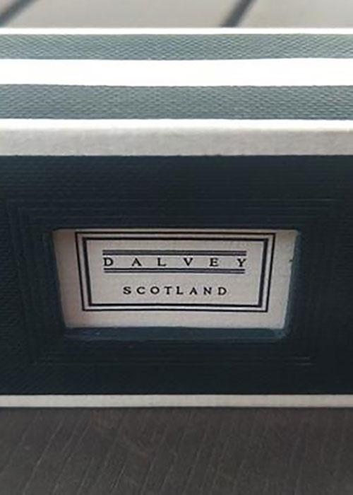 Запонки Dalvey Admiralty с белым перламутром, фото