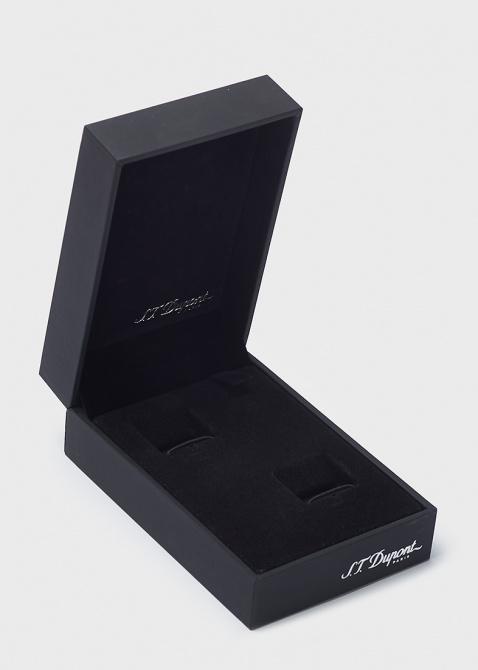 Зажим для галстука S.T.Dupont с брендовой надписью, фото