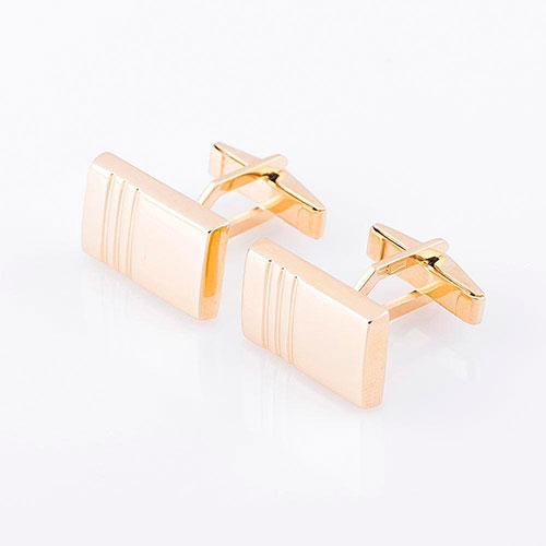 Запонки из желтого золота, фото