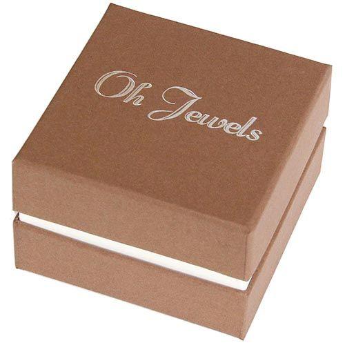 Запонки Jewels круглые с черным узором, фото