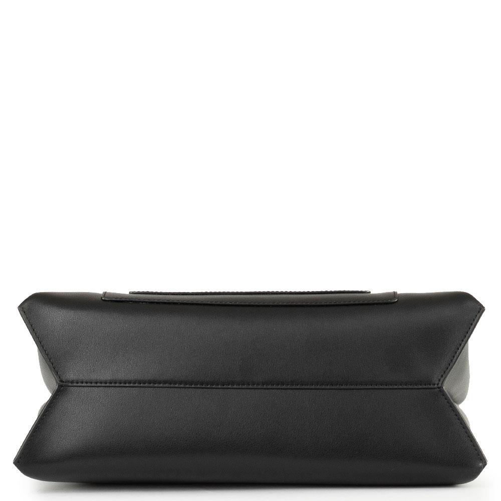Женская сумка Cromia Romy из гладкой черной кожи