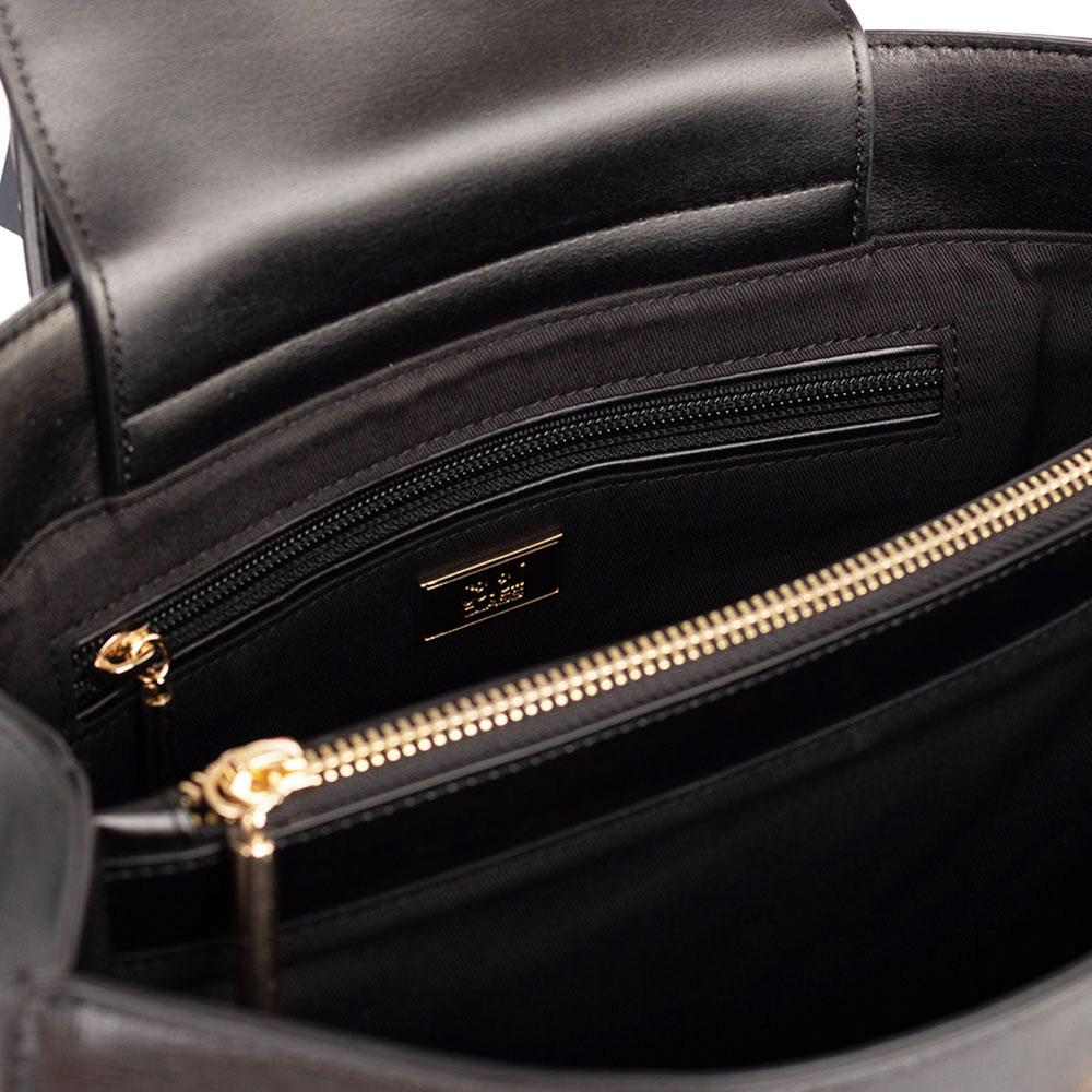Сумка-тоут Cavalli Class Noa черного цвета