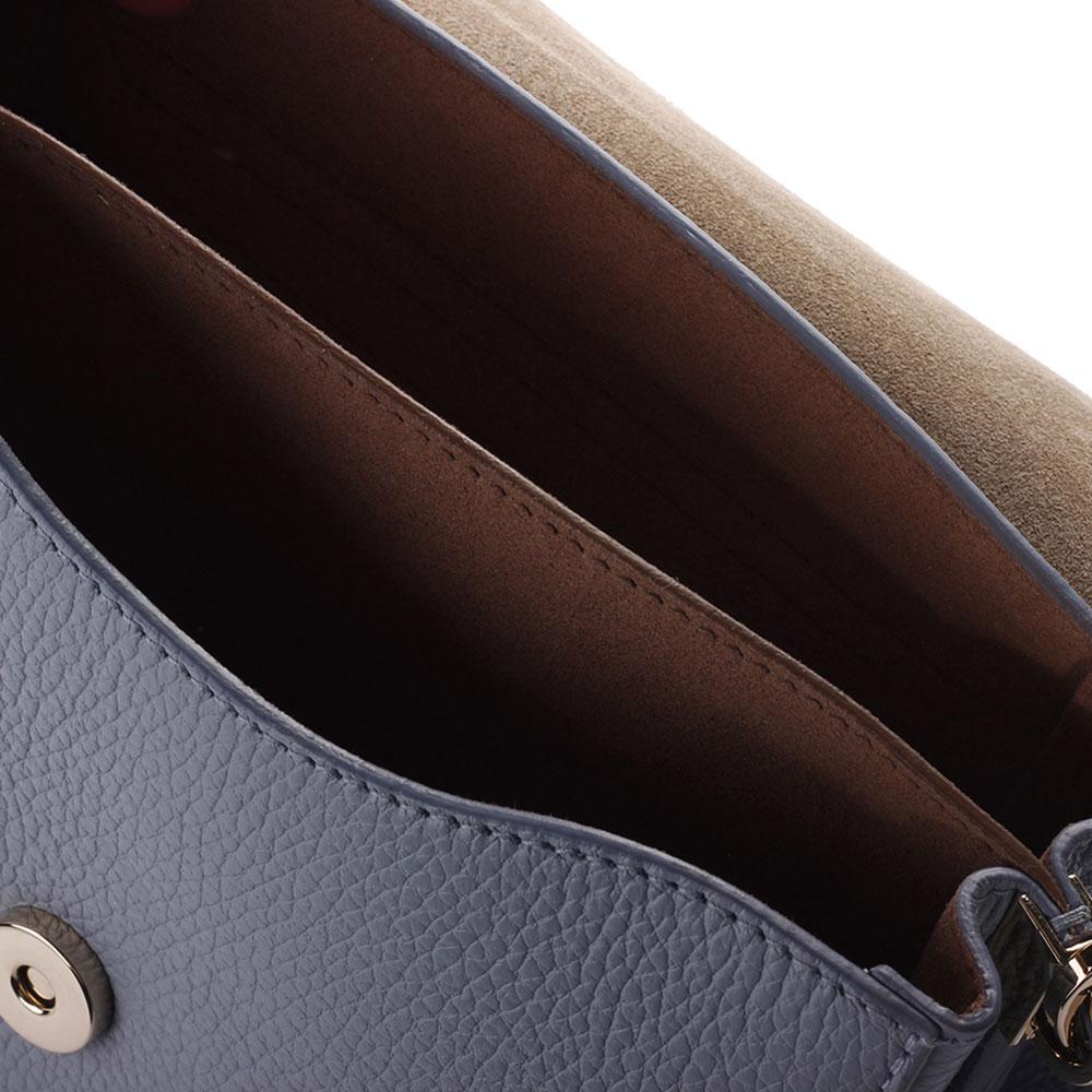 Женская сумка Furla в голубом цвете