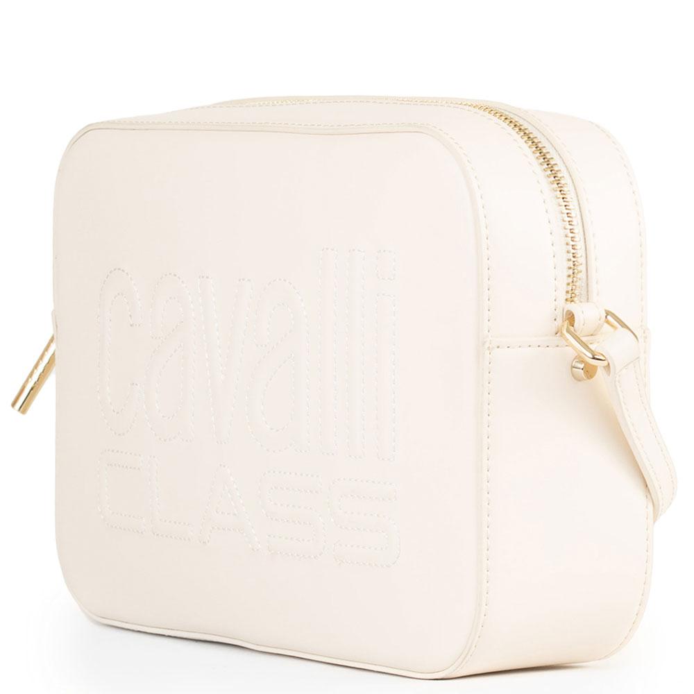 Прямоугольная сумка Cavalli Class Nancy с прошивкой лого