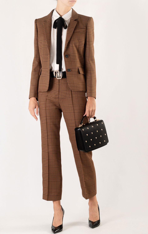 Черная сумка Cavalli Class Yaara квадратной формы