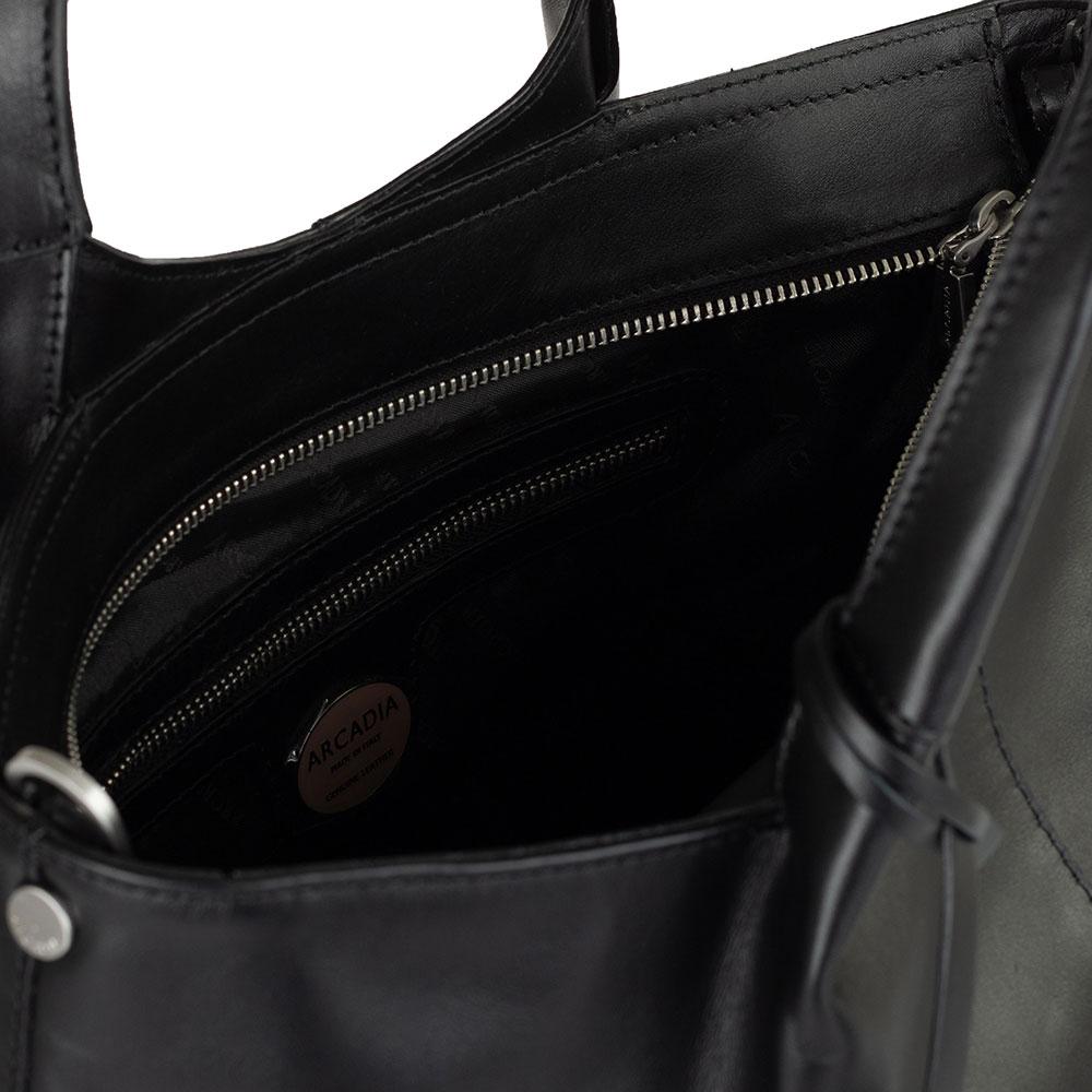 Черная сумка Arcadia со съемным ремнем