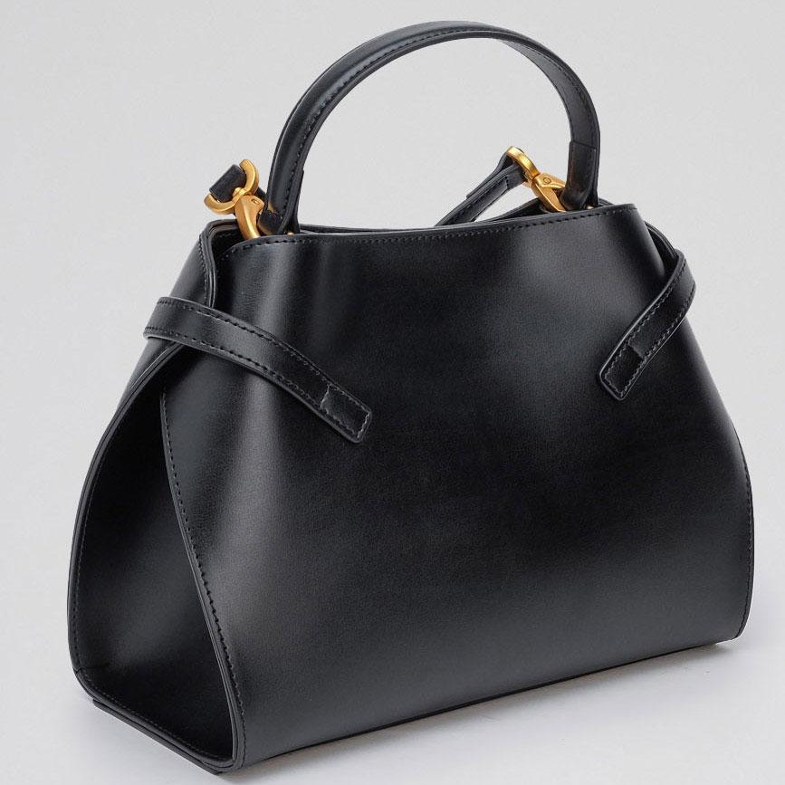 Черная сумка Tosca Blu Delizia с цветочным принтом