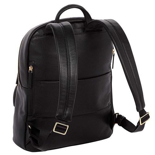 Черный рюкзак Tumi Voyageur Hagen из мелкозернистой кожи, фото