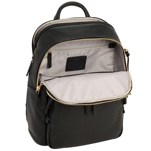 Рюкзак Tumi Voyageur Dori из кожи черного цвета, фото