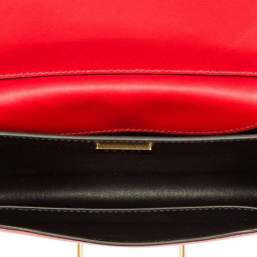 Сумка-кроссбоди Prada двухцветная, фото