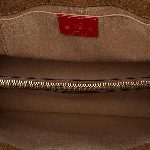 Женская сумка Etro с цветным принтом, фото