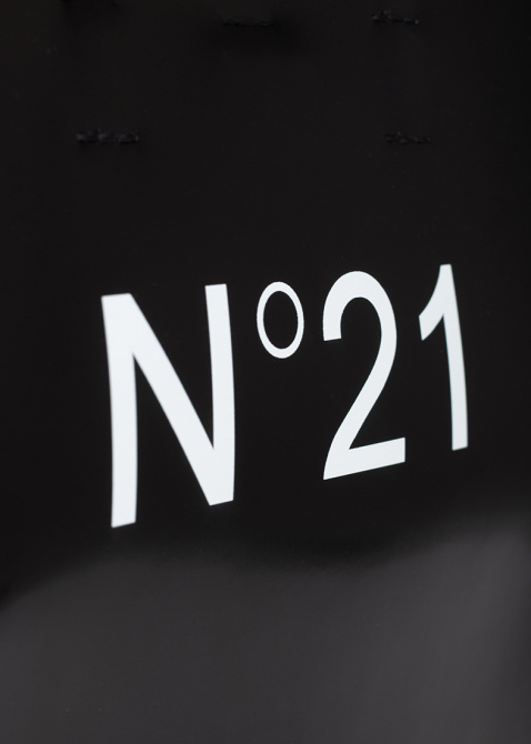 Сумка-шоппер N21 черного цвета, фото