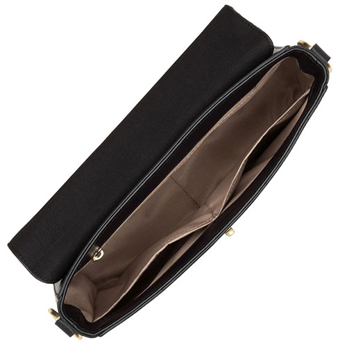 Черная сумка-багет Lancaster Legende Horizon, фото