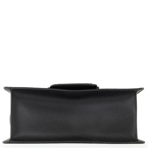 Сумка-портфель Cromia Diva из черной кожи, фото