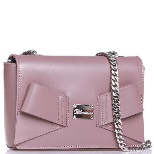 Маленькая сумка Blumarine Jenny с декором в виде банта, фото