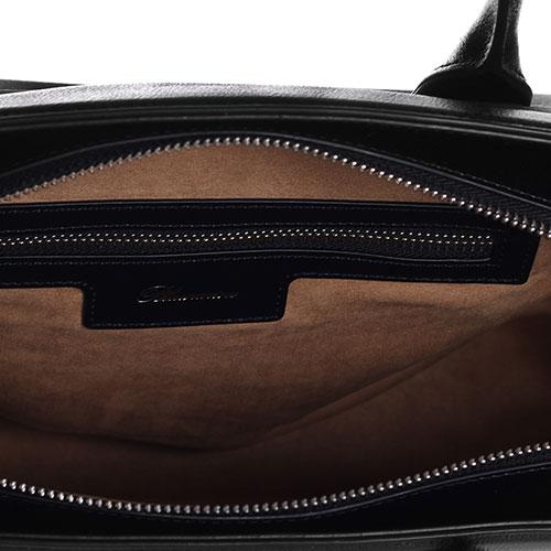Деловая сумка Blumarine Emma с принтом-лого, фото