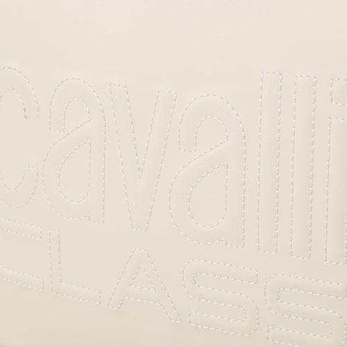 Прямоугольная сумка Cavalli Class Nancy с прошивкой лого, фото