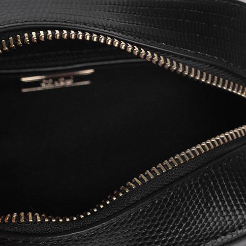 Сумка кросс-боди Cavalli Class Anais в черном цвете, фото