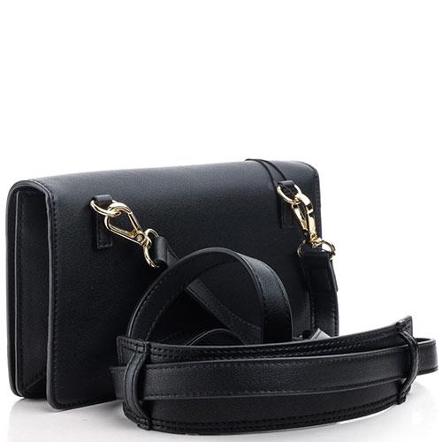 Черная сумка кросс-боди Love Moschino с декором, фото