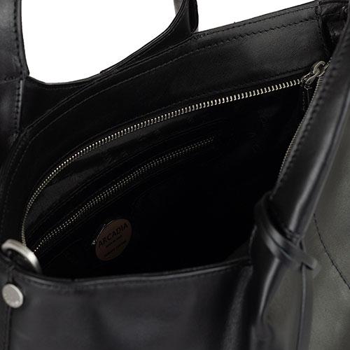 Черная сумка Arcadia со съемным ремнем, фото
