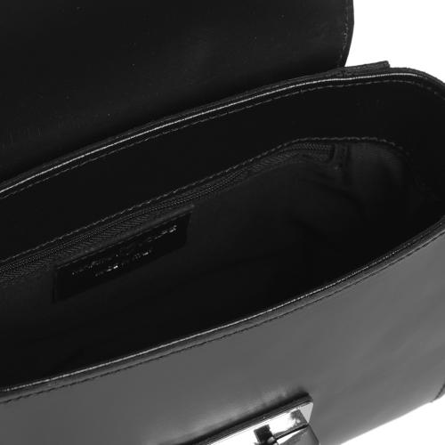Сумка кросс-боди Marina Volpe черного цвета, фото