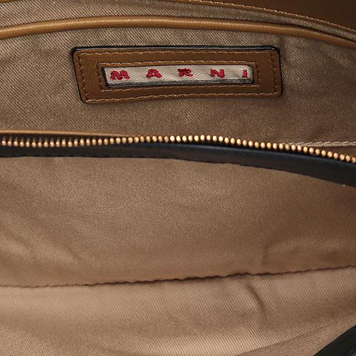 Сумка Marni голубая прямоугольной формы, фото