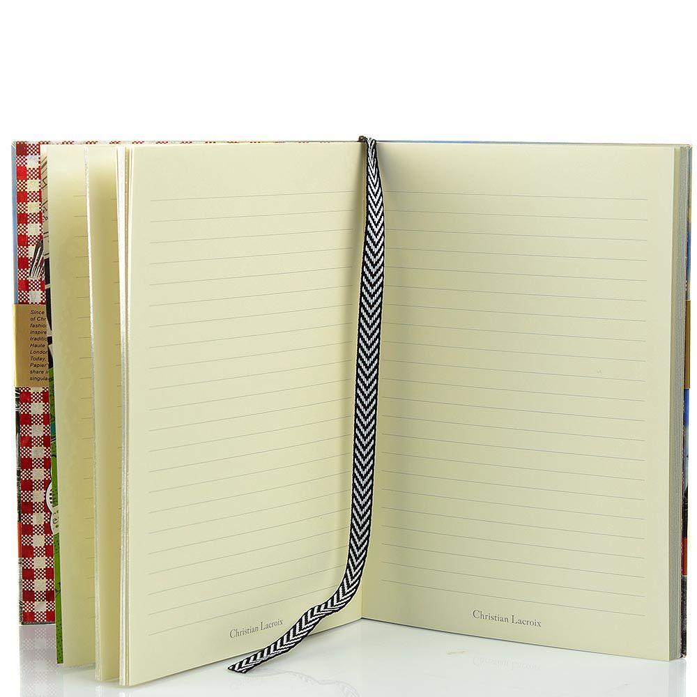 Блокнот Christian Lacroix Papier Paris формата А5 в полужестком переплете с лентой-закладкой