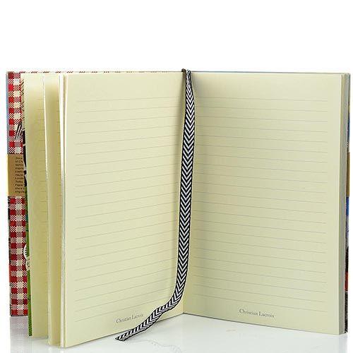 Блокнот Christian Lacroix Papier Paris формата А5 в полужестком переплете с лентой-закладкой, фото