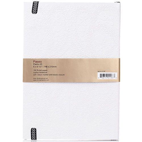 Блокнот Christian Lacroix Papier Paseo Pastis A5 белый, фото