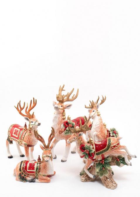 Керамический подсвечник Fitz and Floyd Семейные традиции ручной работы, фото