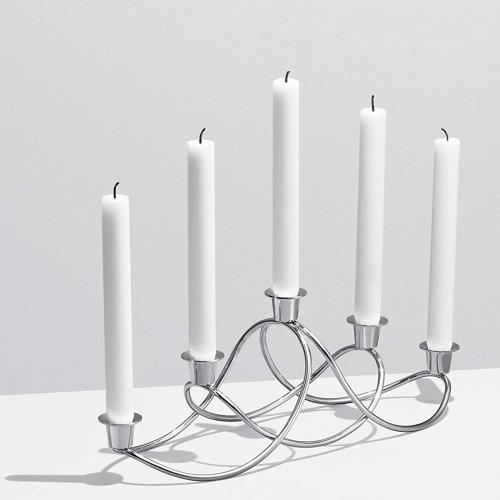 Подсвечник для 5 свечей Georg Jensen Glow 14,3см, фото